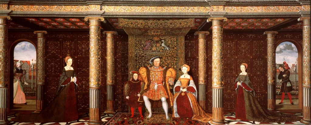 The Tudor Family 1024x412 Henry VIII Gallery