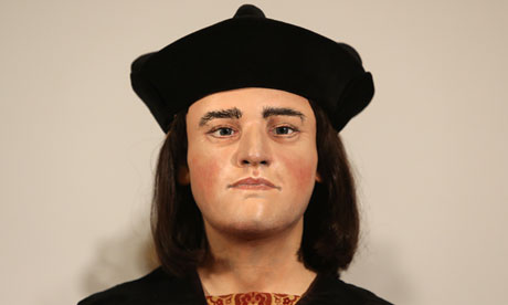 A reconstruction of what scientists believe Richard IIII looked like