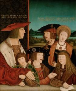 Maximilian I Family1 249x300 Henry VIIIs Foreign Policy