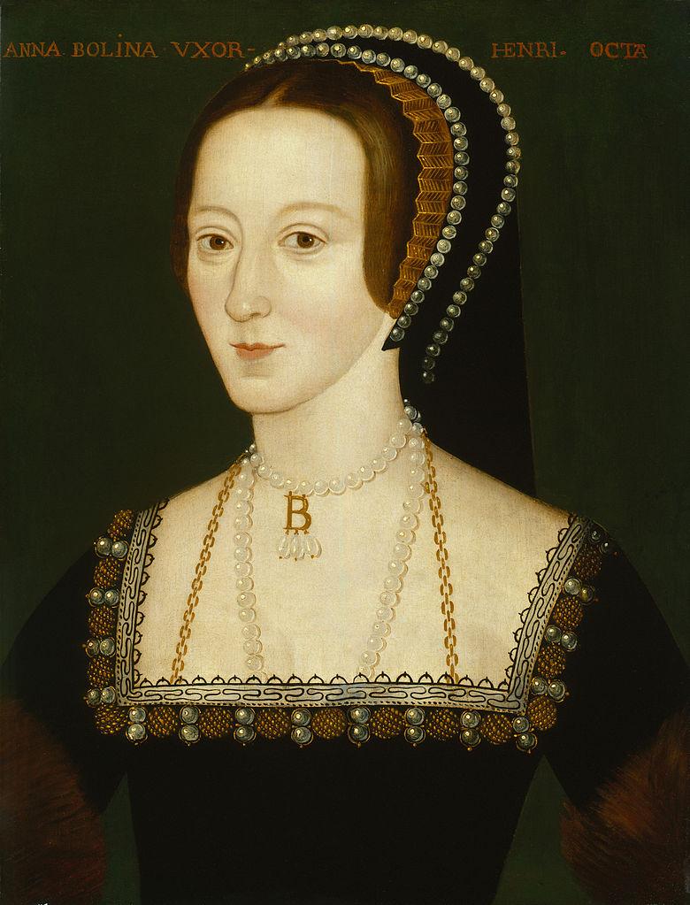 Anne Boleyn - portrait from the National Portrait Gallery