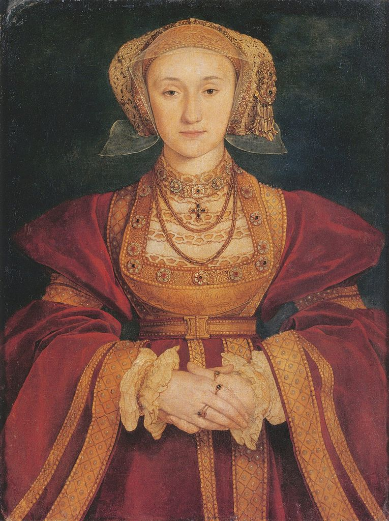 Anne of Cleves by Holbein