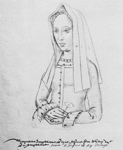 Margaret Tudor Sketch