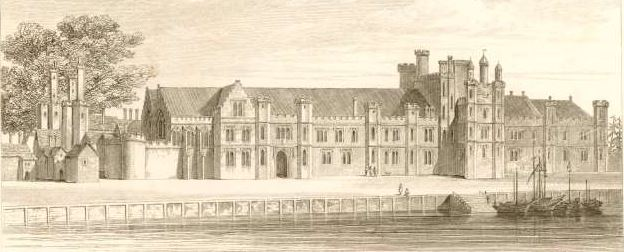 Greenwich Palace Princess Elizabeths Christening