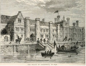 Greenwich Palace Tudor 300x229 The Birth of Elizabeth I