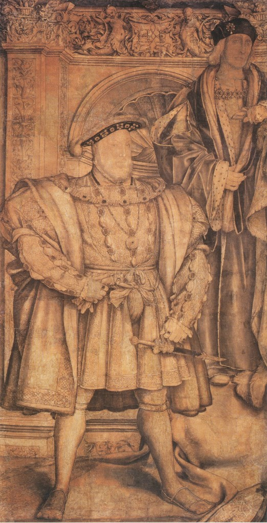 HenryVIII Holbein Cartoon 522x1024 Henry VIII Gallery