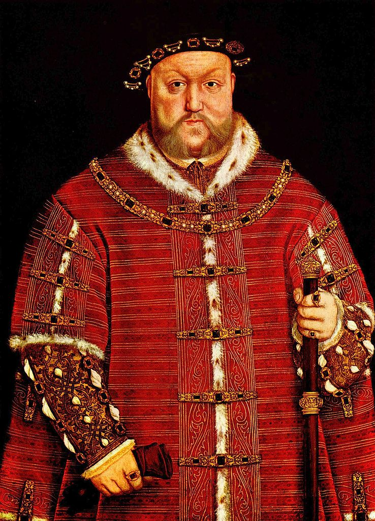 Henry VIII by an unknown artist after Hans Holbein, c.1542