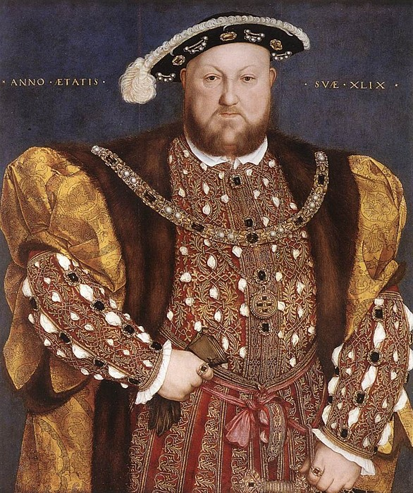 Henry VIII from the circle of Hans Holbein, c.1535-40