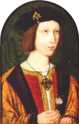 PrinceArthur Flemishc1500 only known contemporary likeness The Birth of Arthur Prince of Wales