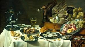 Peacock Pie 300x165 A Tudor Banquet